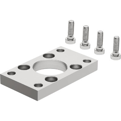 Corrosion Resistant Flange Mounting For DSBC ISO 15552 Cylinders