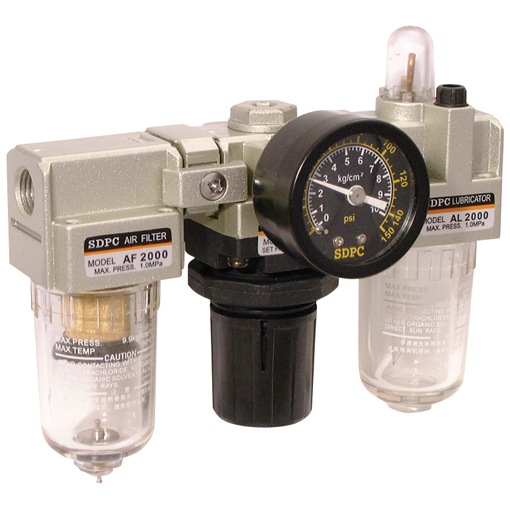 Filter + Regulator + Lubricator