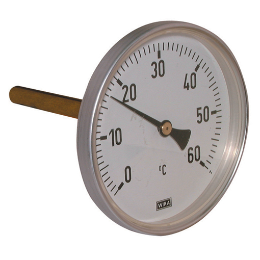 Bi-metallic Thermometers, Centre Back Connection
