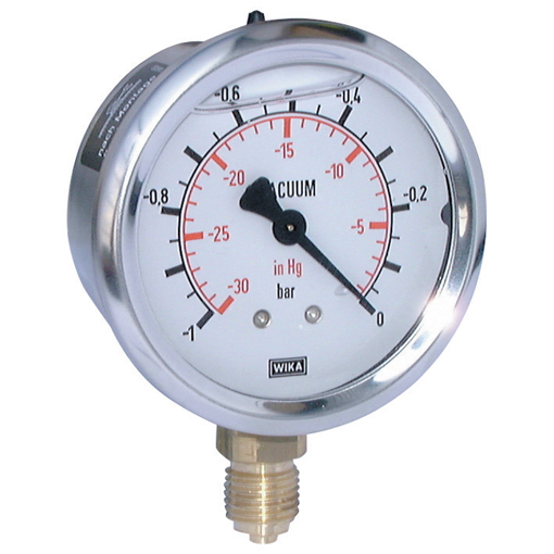 Vacuum Gauges, Bottom Connection
