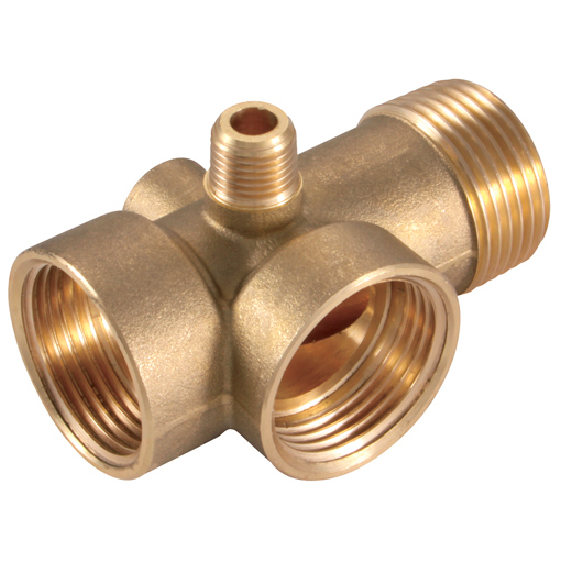 Brass Hose Connector for Pumps and Tanks