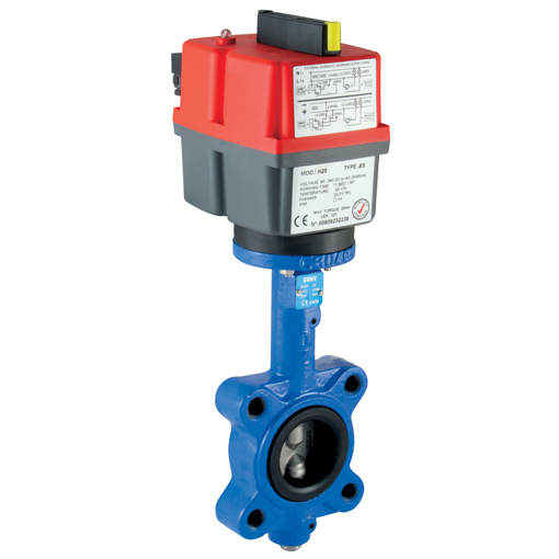 Butterfly Wafer Pattern Valves