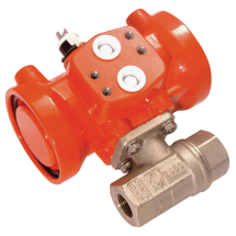 Pneumatic Actuated Brass Ball Valves
