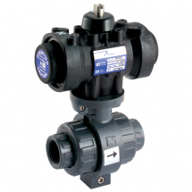 Pneumatic Actuated PVC 2 Way Valves