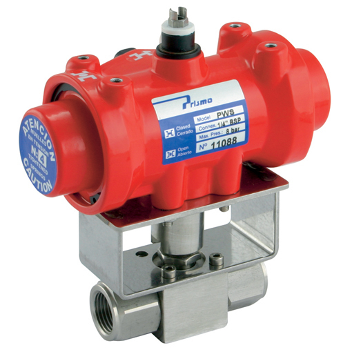 Pneumatic Actuated Stainless Steel High Pressure Valves