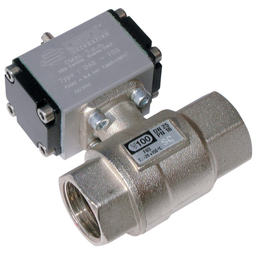 Brass Ball Valves, 2 Way Pneumatic Actuation, Low Pressure