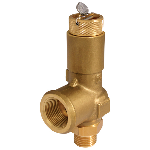 Brass Enclosed Safety Valves, Liquid Duty Nominal Bore, 10mm-13mm