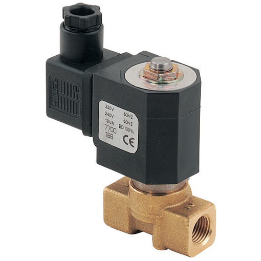General Purpose 2/2 N/C Direct Acting Solenoid Valves