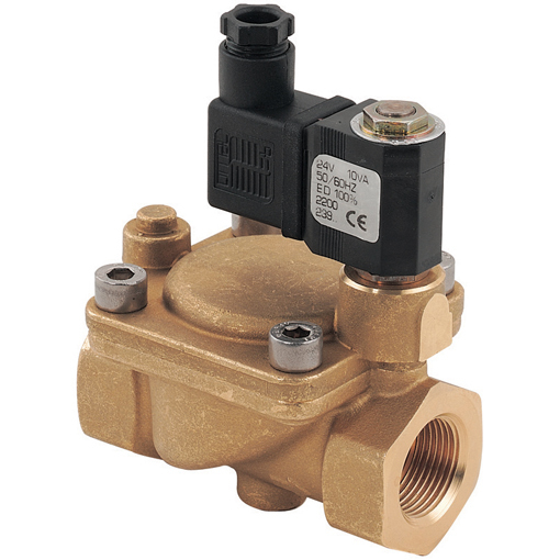 General Purpose 2/2 N/C Pilot Operated Solenoid Valves