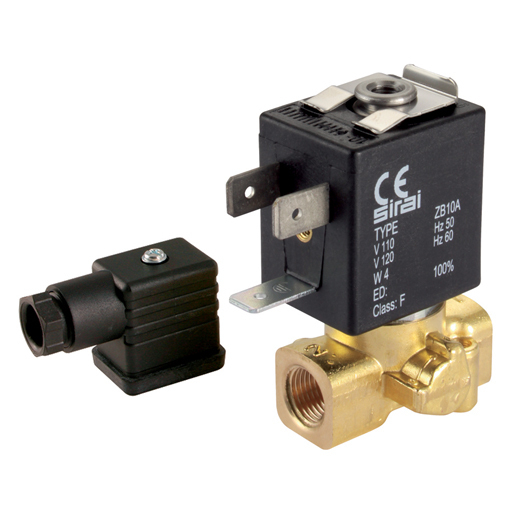 General Purpose 2/2 N/C, Direct Acting Solenoid Valves
