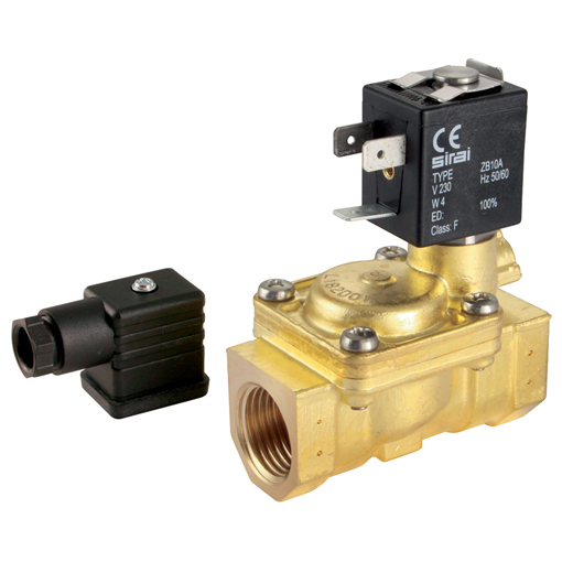 General Purpose 2/2 N/C, Pilot Operated Solenoid Valves