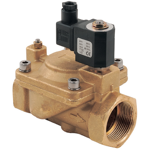 General Purpose 2/2 N/O Pilot Operated Solenoid Valves