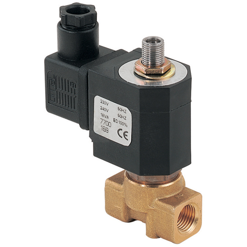 General Purpose 3/2 N/C Direct Acting Solenoid Valves