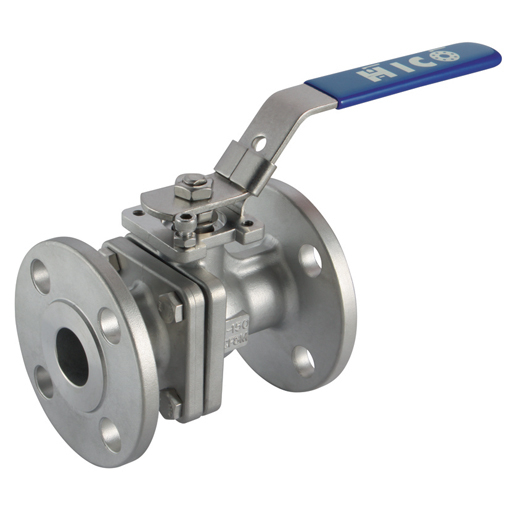 2 Piece Flanged Ball Valves