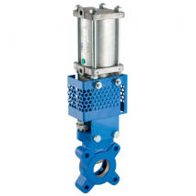 Pneumatic Double Acting Knife Gate Valves