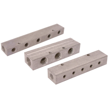 Air-pro Aluminium Single-Sided Manifolds, BSPP