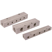 Air-pro Aluminium Double-Sided Manifolds, BSPP