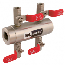 HNL Stainless Steel 4, 6 and 10 Way Manifolds