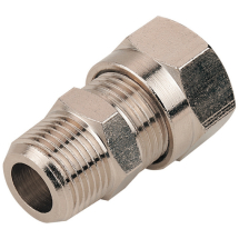 Metric Nickel Plated Compression Fittings