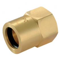 Wade Compression Nut for PVC Covered Copper Tube