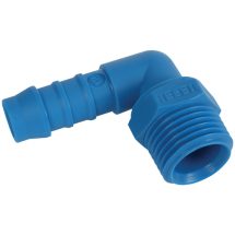 Tefen Male Elbow Hose Connector