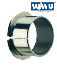 Wrapped PTFE Lined Bearings , Metric Flanged