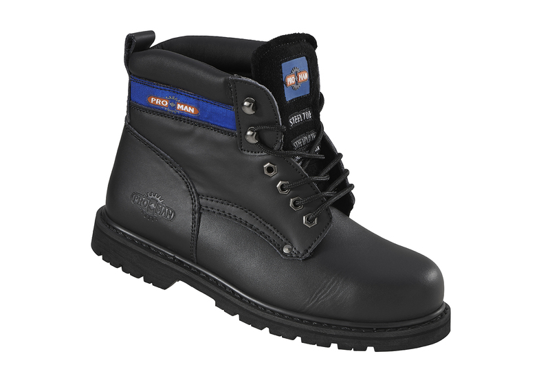PM9401 Pro-Man Safety Boots - Black