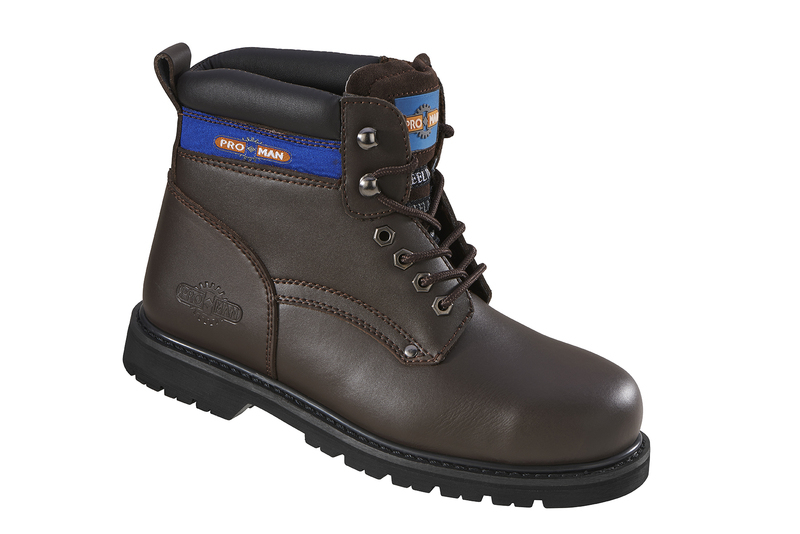 PM9401 Pro-Man Safety Boots - Brown