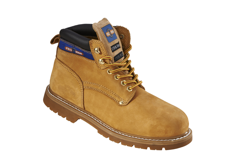 PM9401 Pro-Man Safety Boots - Honey Nubuck