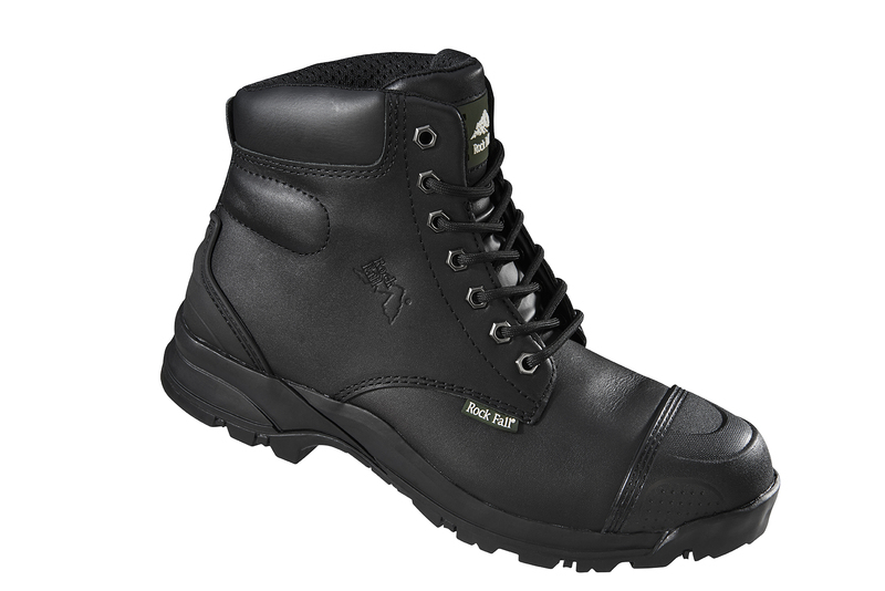 RF10 Rockfall Super Robust Safety Boots - Ebonite