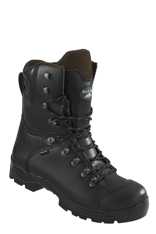 RF328 Rockfall Chatsworth Chainsaw Boots - Black