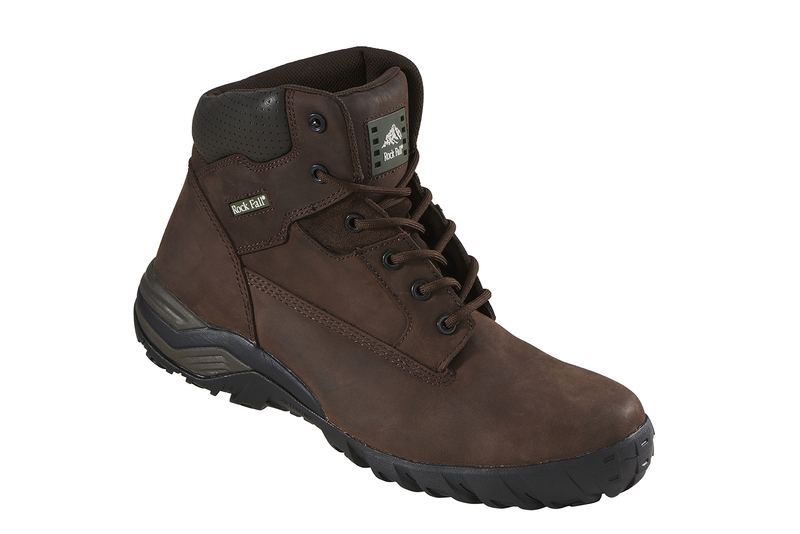 RF440B Rockfall Flint Composite Safety Boots - Brown