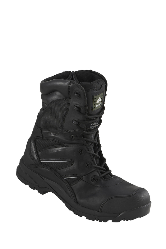 RF4500 Rockfall Titanium Composite Safety Boots - Black