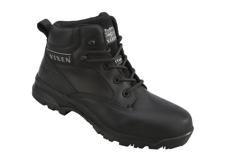 VX950 Vixen Onyx Composite Ladies Safety Boots - Black