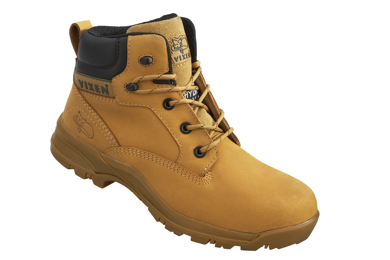 VX950 Vixen Onyx Composite Ladies Safety Boots - Honey
