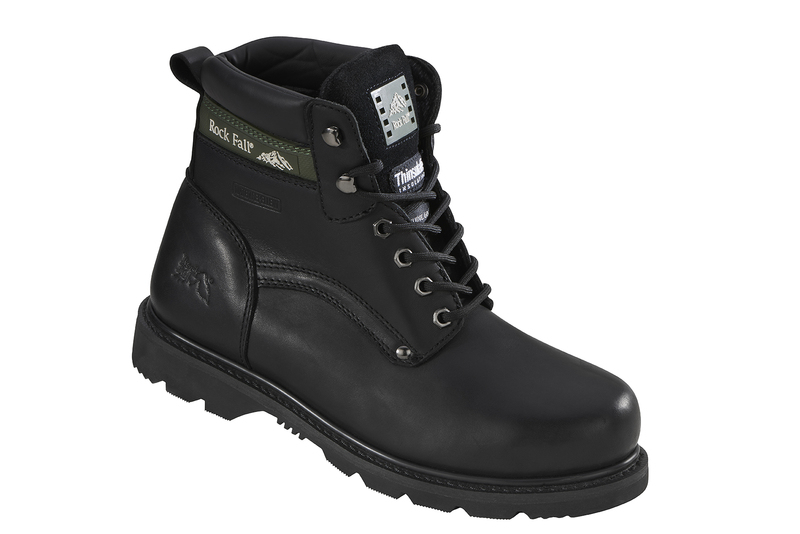 RF59101BN Rockfall Goodyear Welted Safety Boots - Brown