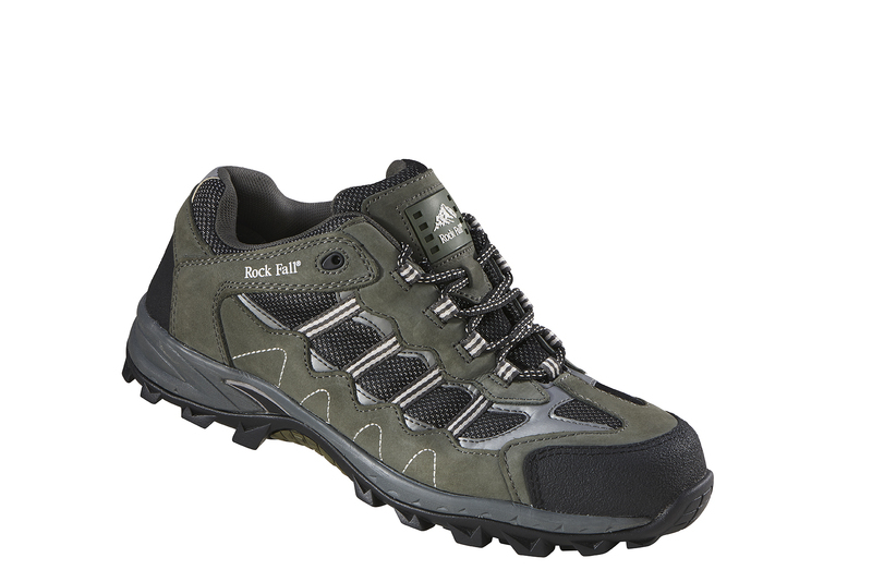 RF006 Rockfall Summit II Composite Safety Trainer - Green/Black