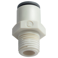 Leak-free, Push-in Fittings NPT Threads, Imperial Tube